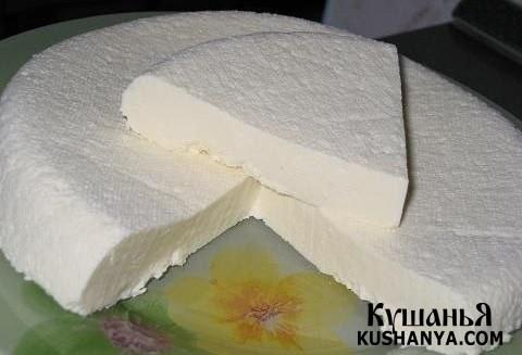 Фото Домашний сыр-брынза