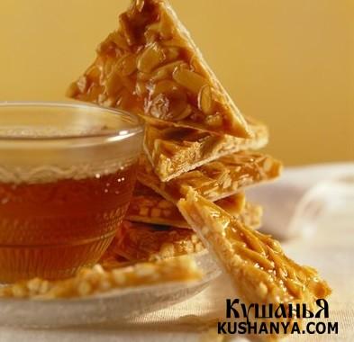 Фото Грильяж с тыквенными семечками и медом