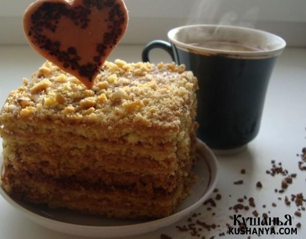 Фото Пирожные к кофе