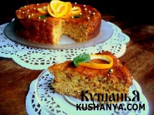 Апельсиновый торт фото