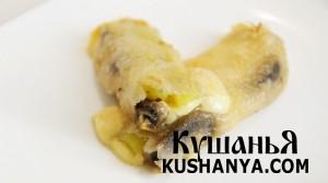 Фото Спринг-роллы с грибами и болгарским перцем