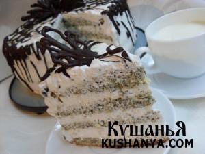 Маковый торт «Царица Эстер» фото