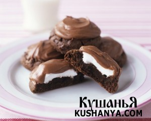Ванильно-шоколадная помадка фото