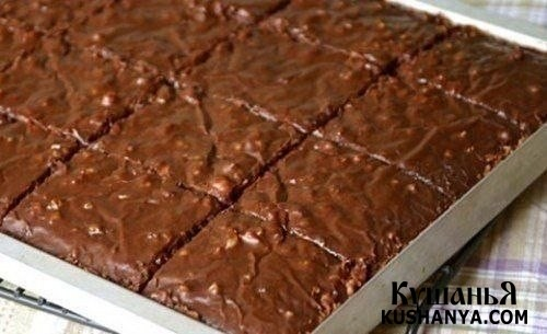 Фото Шоколадные пирожные