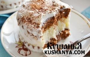 Пирожные «Баунти» фото