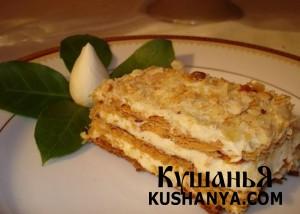 Пирожное Mille feuille фото