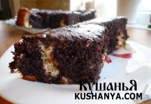 Пирожное «Жаждущая монашка» фото