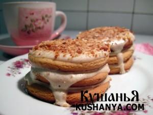 Медовые пирожные с бананом фото