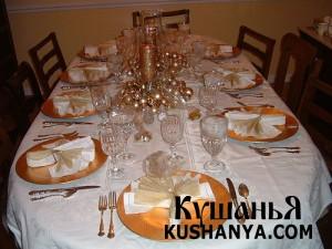 Ресторанный шик: правила сервировки стола фото