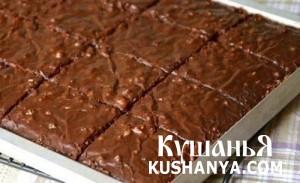Шоколадные пирожные фото