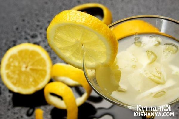 Фото Лимонный крюшон
