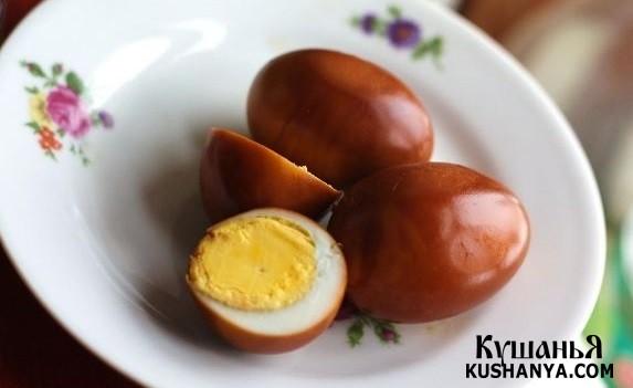 Фото Перепелиные яйца по-корейски