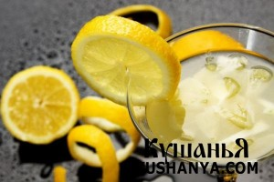 Лимонный крюшон фото
