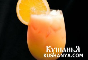 Апельсиновый крюшон с шампанским фото