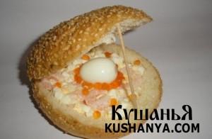 Сэндвич «Жемчужина» фото