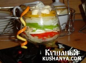 Салат-коктейль «Фантазия» фото