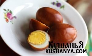 Перепелиные яйца по-корейски фото