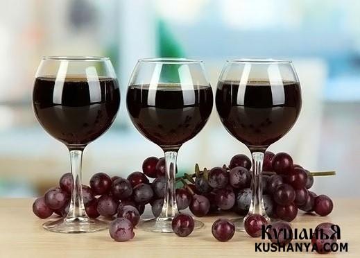 Фото Вино из винограда