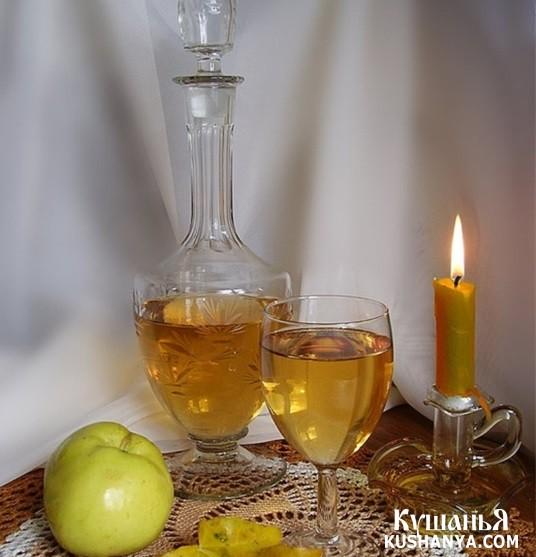 Фото Яблочное вино