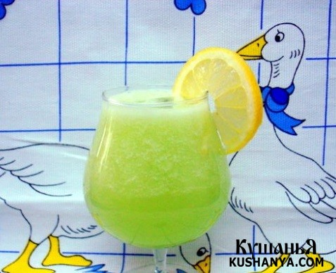 Фото Огуречно - лимонный сок