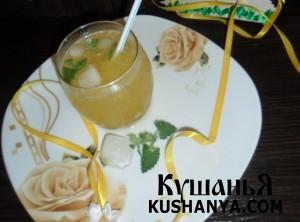Фото Лимонно-персиковый сок