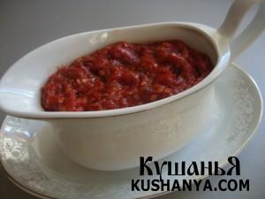 Томатный соус «Сацебели» фото