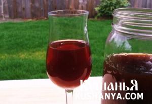 Вино из черной смородины фото