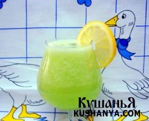 Огуречно - лимонный сок фото