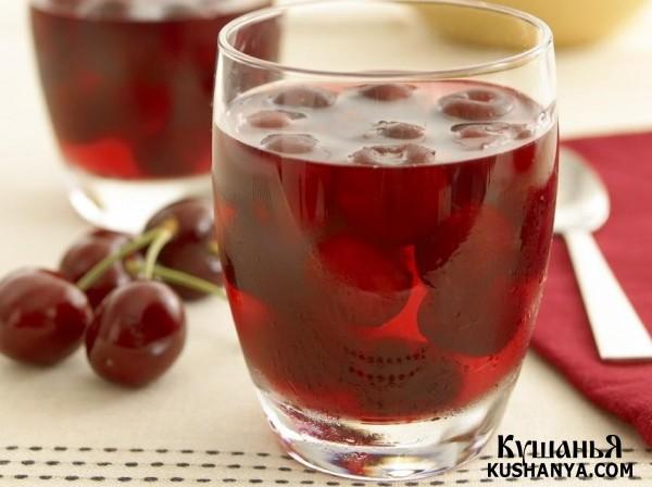 Фото Вишневый сок