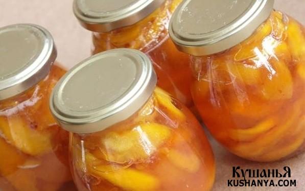 Фото Варенье из персиков без сиропа