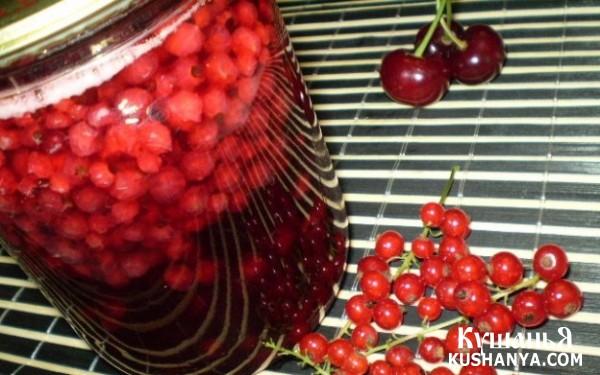 Фото Варенье из красной смородины