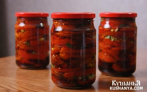 Фото Вяленые помидоры