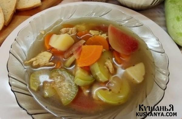 Фото Кабачковый суп