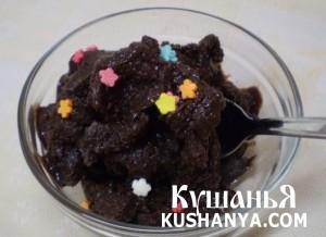 Мороженое с какао фото