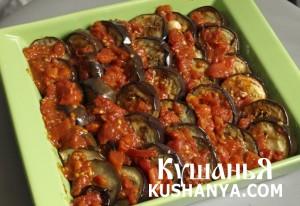 Баклажаны в томатно-коричном соусе фото