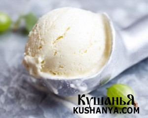 Мороженое с крыжовником фото