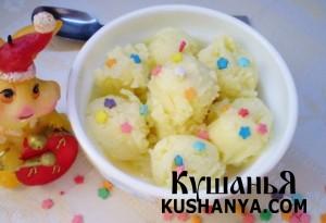 Кокосовое мороженое фото