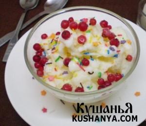 Молочное мороженое фото