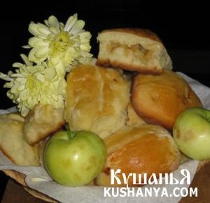 Пирожки с яблоками духовые фото