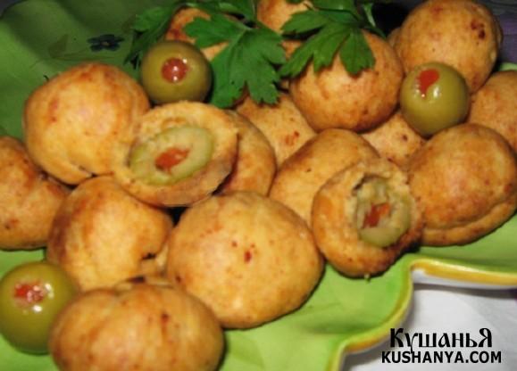 Фото Пирожки с оливками