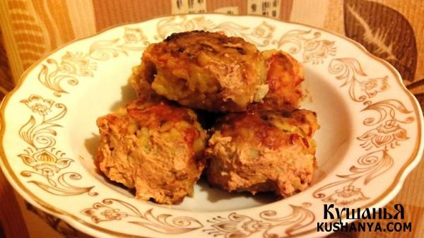 Фото Тефтели с рисом в томатно-сметанном соусе